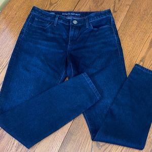 Banana Republic Woman's Skinny Jeans Dark Blue 28